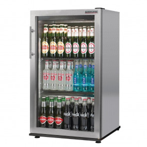 Autonumis Popular 1 Door Back Bar Cooler St/St A20953