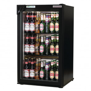 Autonumis EcoChill 1 Door Back Bar Cooler Black A209119