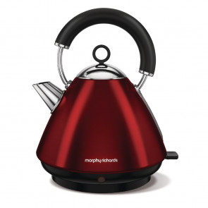 Morphy Richards Accents Traditional Kettle New Red