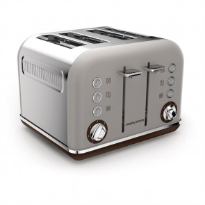 Morphy Richards Toaster New Accents 4 Slice Pebble