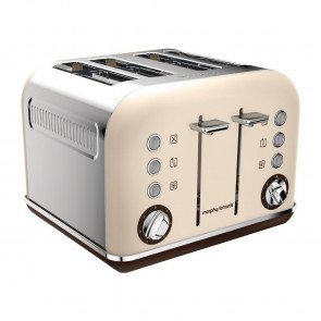 Morphy Richards Accents 4 Slot Toaster Sand