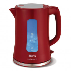 Morphy Richards Brita Filter Kettle Red