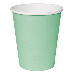 Fiesta Takeaway Coffee Cups Single Wall Turquoise 225ml x50