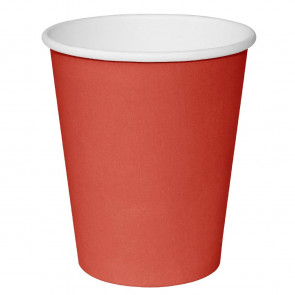 Fiesta Takeaway Coffee Cups Single Wall Red 225ml x50