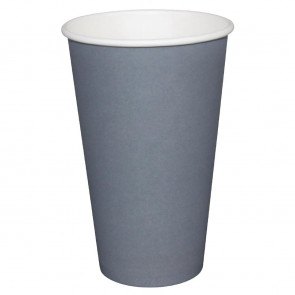 Fiesta Takeaway Coffee Cups Single Wall Charcoal 225ml x50
