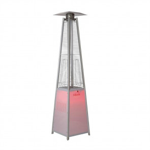 Tahiti LED Flame Stainless Steel 13kW Heater