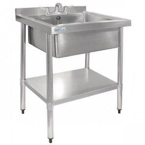 Vogue Stainless Steel Midi Sink