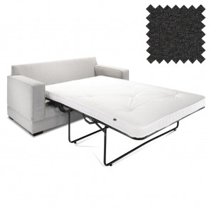 Jay-Be Contract Two Seater Sofa Bed Modern in Charcoal Colour
