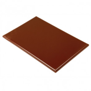 Hygiplas Extra Thick Brown High Density Chopping Board