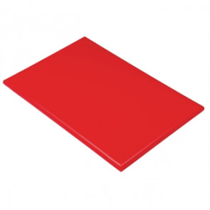 Hygiplas Extra Thick Red High Density Chopping Board