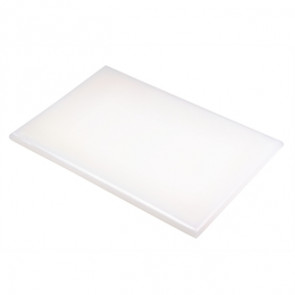 Hygiplas Extra Thick White High Density Chopping Board