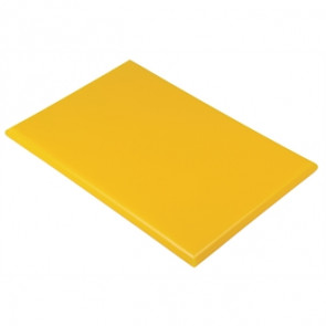 Hygiplas Extra Thick Yellow High Density Chopping Board