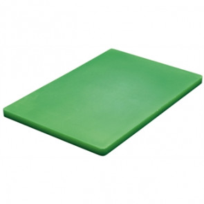 Hygiplas Thick Low Density Green Chopping Board