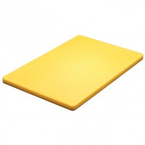 Hygiplas Thick Low Density Yellow Chopping Board