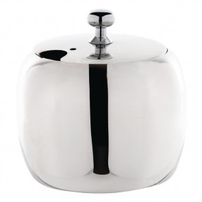 Olympia Cosmos Sugar Bowl Stainless Steel 8oz