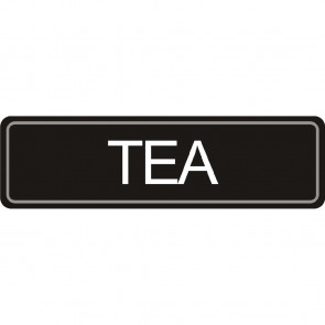 Airpot Tea label