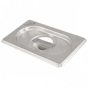 Vogue Stainless Steel 1/4 Gastronorm Lid