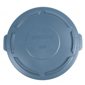 Rubbermaid Brute Snap On Lid Grey 121Ltr