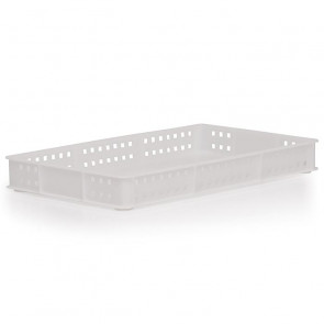 30x18 - Confectionery Tray Solid Base Perforated Sides - 20 Ltr