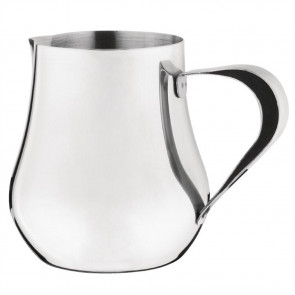 Olympia Arabian Milk Jug Stainless Steel 13oz