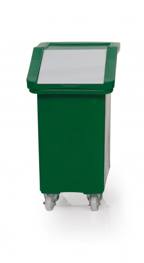 Ingredient Trolley - 65L - Clear Flap - R204