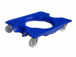 Blue Plastic Dolly Suitable For BT4 & BT9