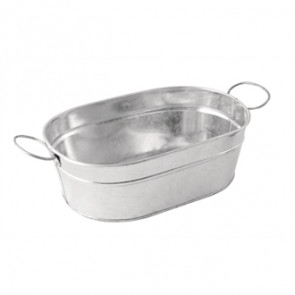 Rectangular Galvanised Steel Tub