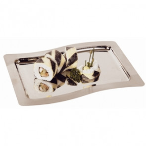 Service Display Tray 285mm x 200mm Stainless Steel