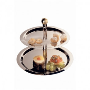 Stainless Steel 2 Tier Display Tray