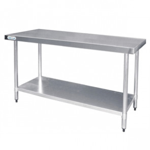 Vogue Stainless Steel Prep Table 1200mm