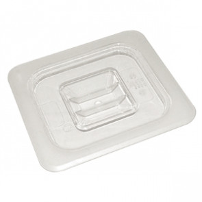 Vogue Polycarbonate 1/2 Gastronorm Lid Clear