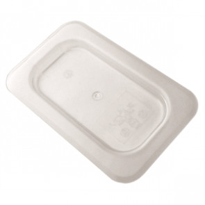 Vogue Polycarbonate 1/9 Gastronorm Lid Clear