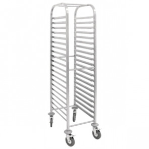 Gastronorm Racking Trolley, 20 shelves.