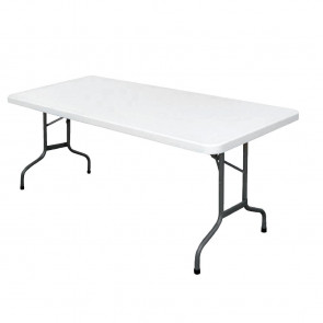 Bolero Foldaway Rectangular Utility Table 6ft