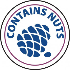 Contains Nuts Labels