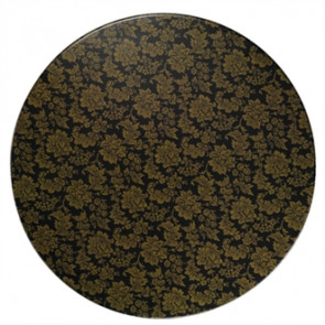 Werzalit Round Table Top Classic Flowers 800mm