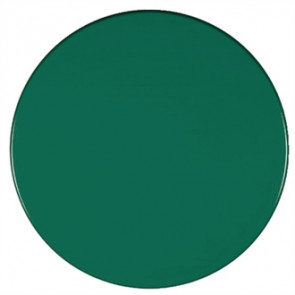 Werzalit Round Table Top Dark Green 800mm