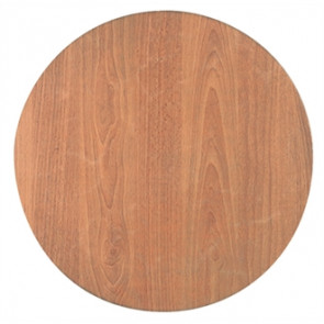 Werzalit Round Table Top Hornbeam 800mm