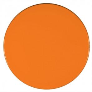 Werzalit Round Table Top Orange 600mm
