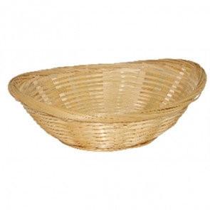Wicker Oval Bread Basket