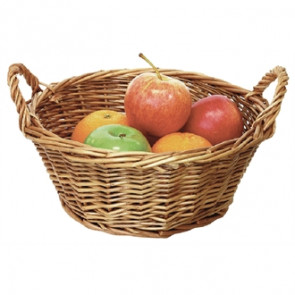 Willow Small Round Table Basket