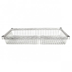 Vogue Chrome Basket (Pack of 2)
